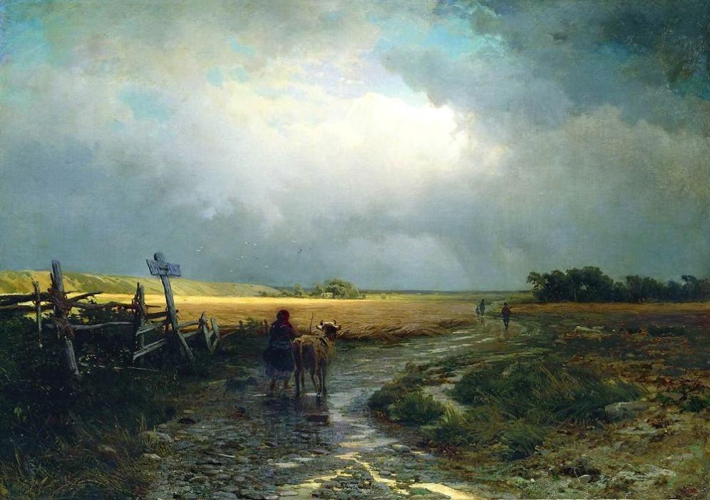 Федор Васильев, После дождя