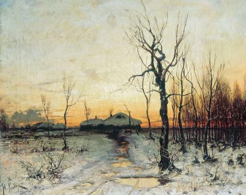 Юлий Клевер, Зима