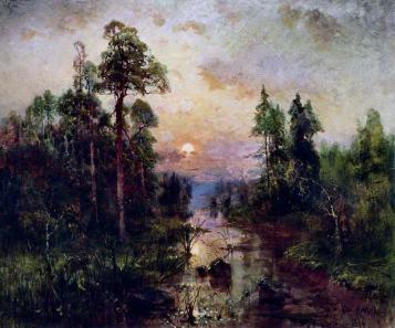 Юлий Клевер, Вечер