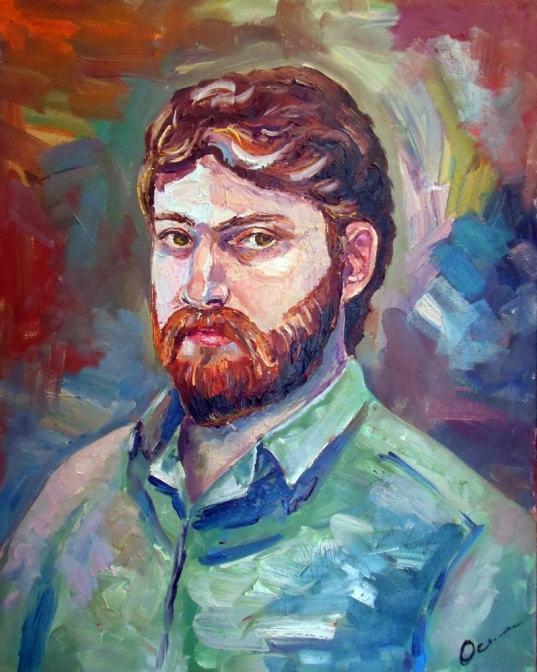 Екатерина Осипович, Портрет Джэма, масло
