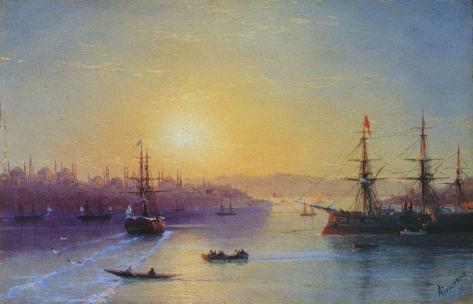 Иван Айвазовский, Вид Константинополя