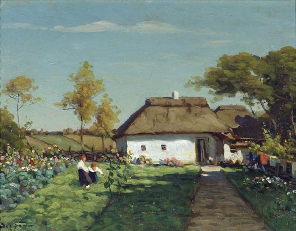 Виктор Зарубин, Украинская усадьба