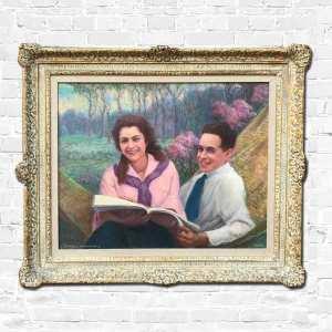 Daniel MacMorris oil painting - A Summer Reading