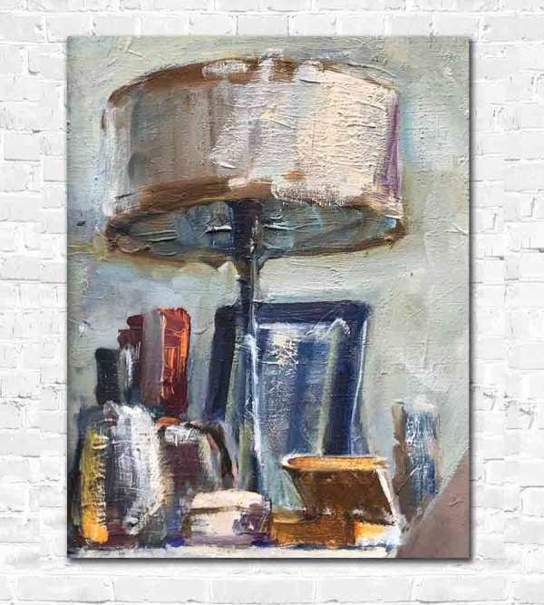 Lamp in Anatoly Demenko painting