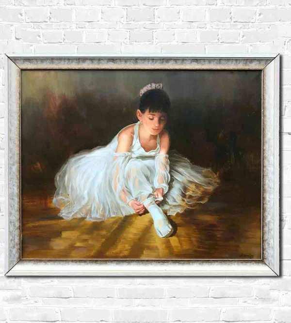 Young Ballerina by Yuri Lyamin