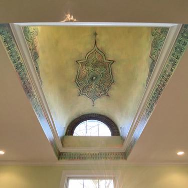 Islamic moroccan barrel ceiling design