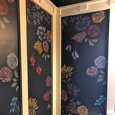 Floral Bathroom Pattern