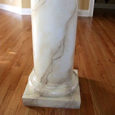 Faux Marble Column