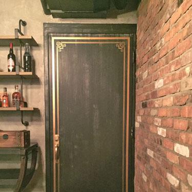 Faux Vintage Bank Vault Door