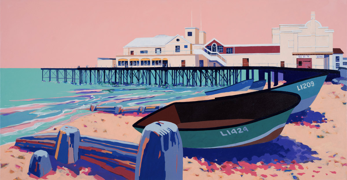 Painting of Bognor Regis Pier