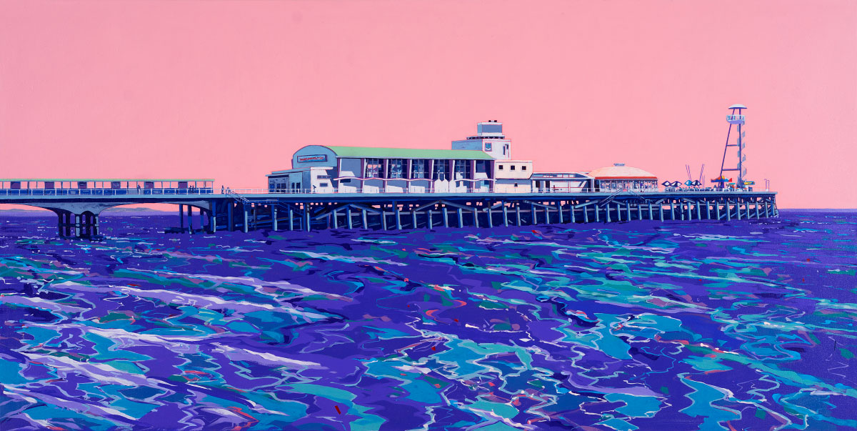 Painting of Bournemouth Pier
