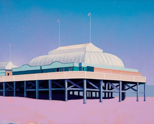 Painting of Burnham-on-Sea Pier
