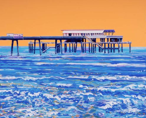 Painting of Deal Pier
