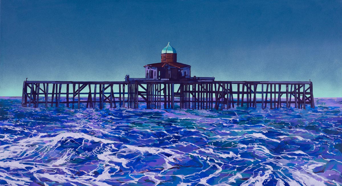 Painting of Herne Bay Pier