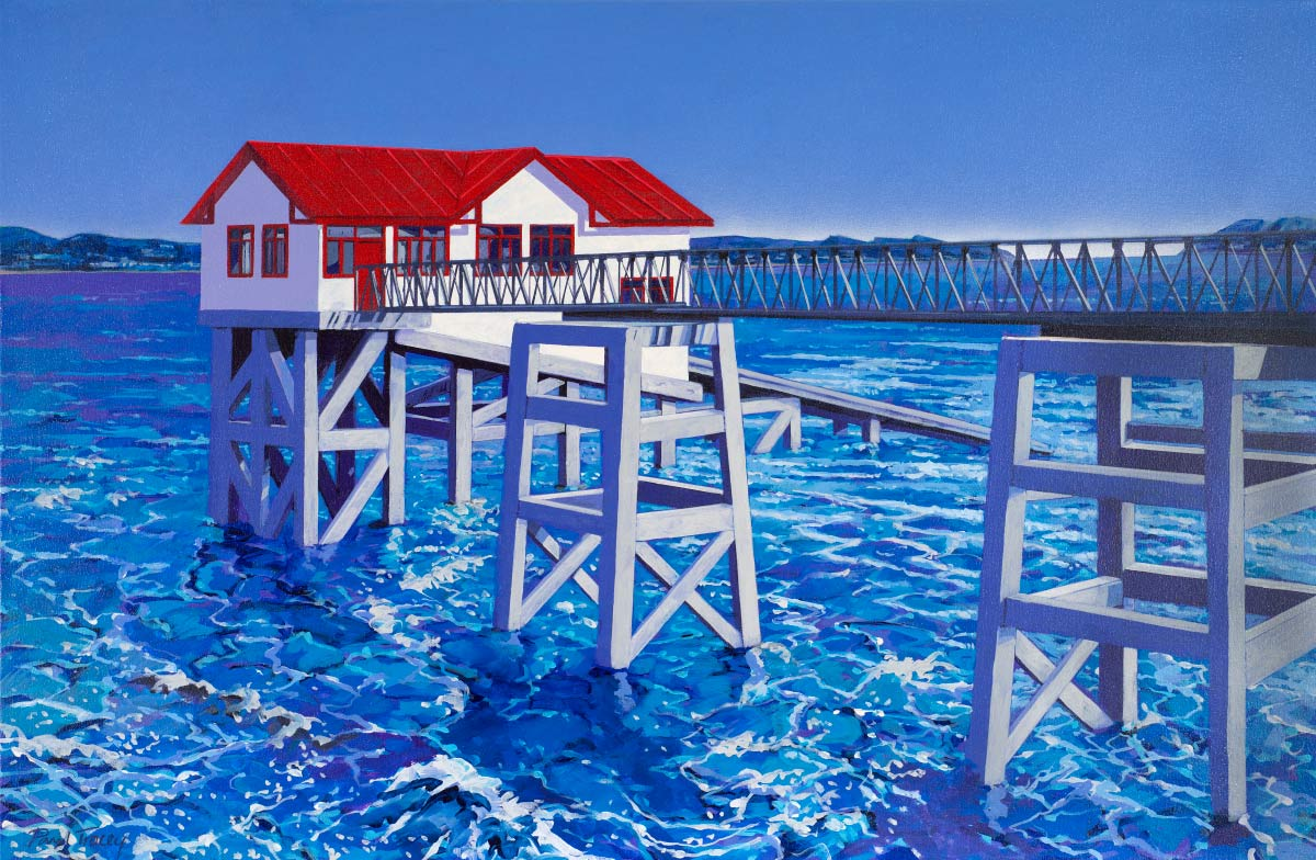 Painting of Mumbles Pier