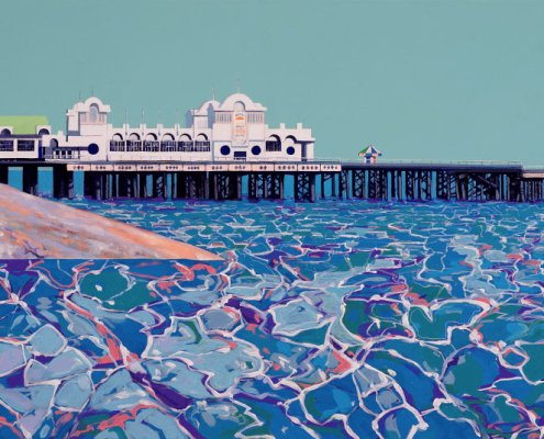 Painting of Southsea Pier