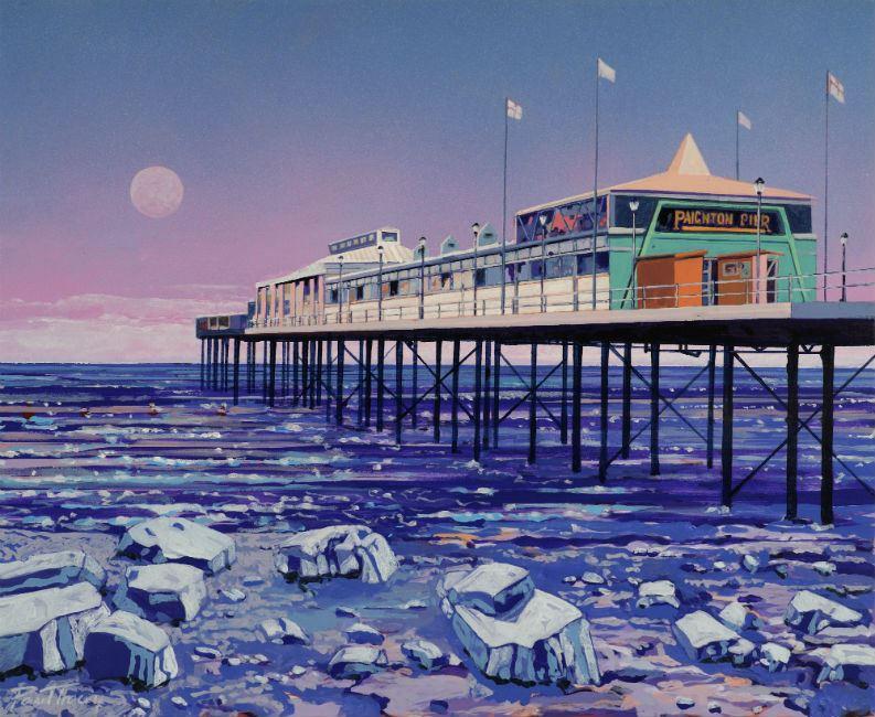 Painting of Paignton Pier