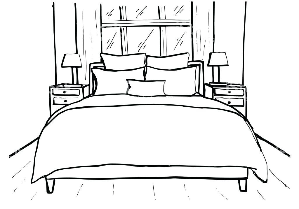 How To Draw A 3d Bed Easy Novocom Top