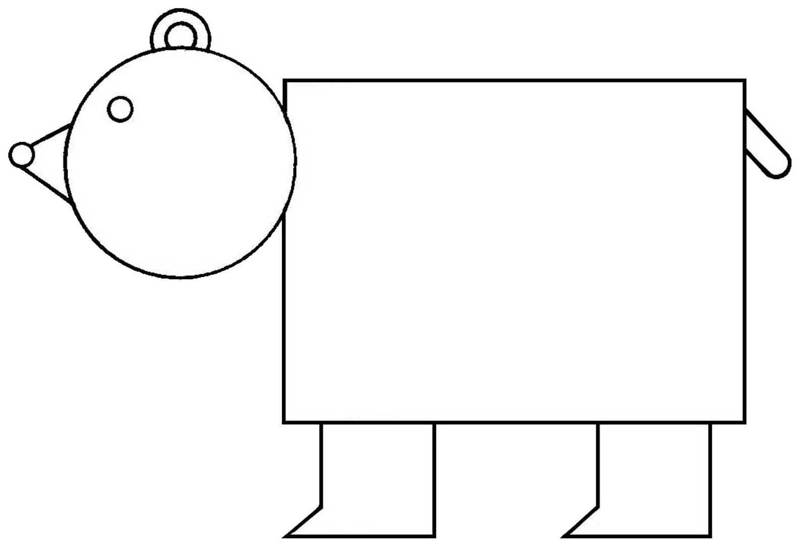 Drawing Shapes Worksheets At Paintingvalley