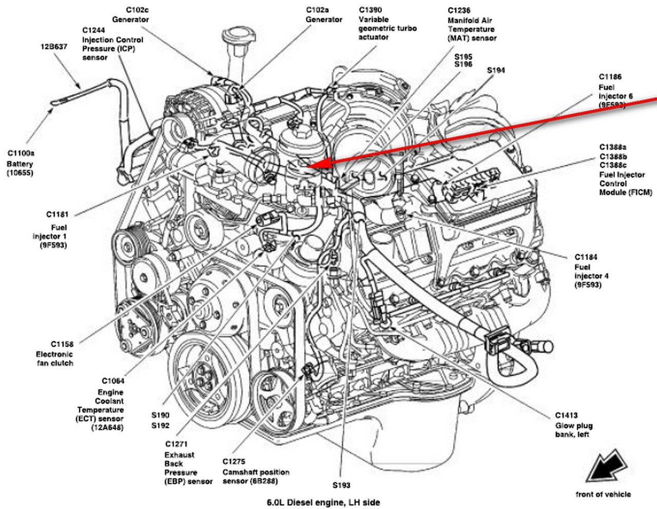 7 3l Engine Diagram