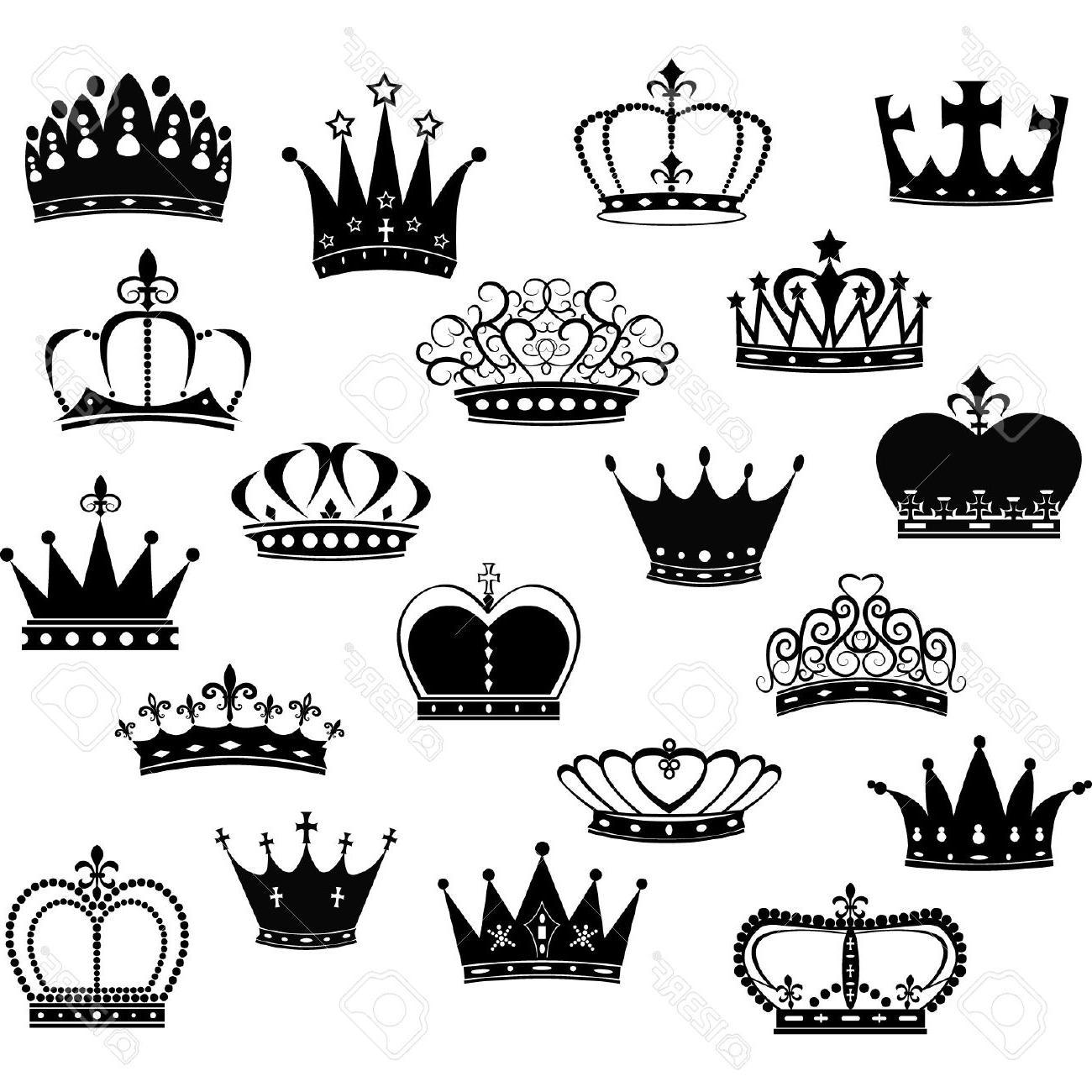 Crown Drawing Vector At Paintingvalley