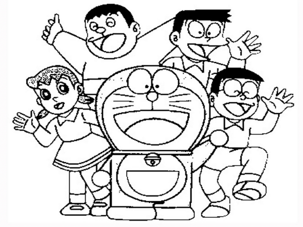 Doraemon Drawing At Paintingvalley