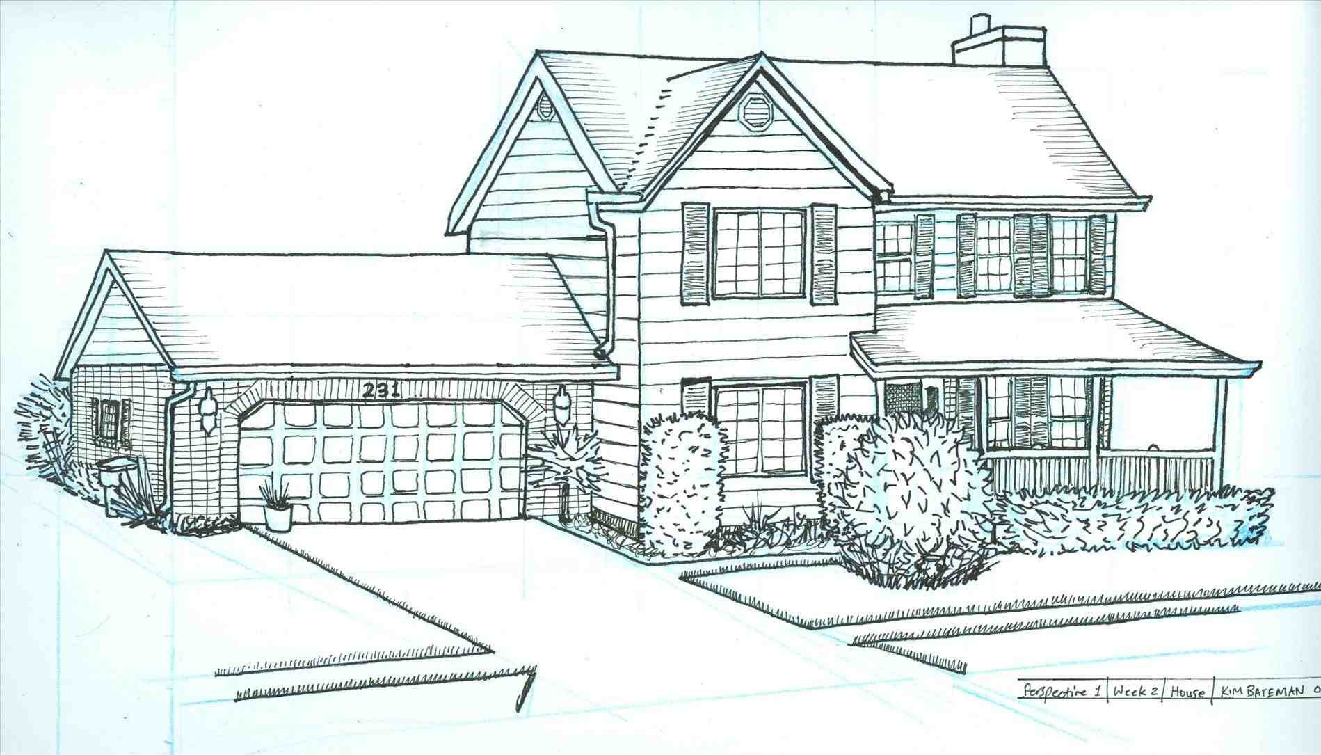 Dream Home Drawing At Paintingvalley