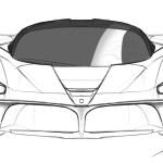 Ferrari Car Logo Drawing