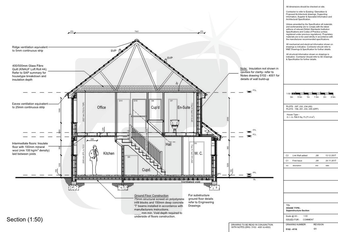 House Section Drawing At Paintingvalley