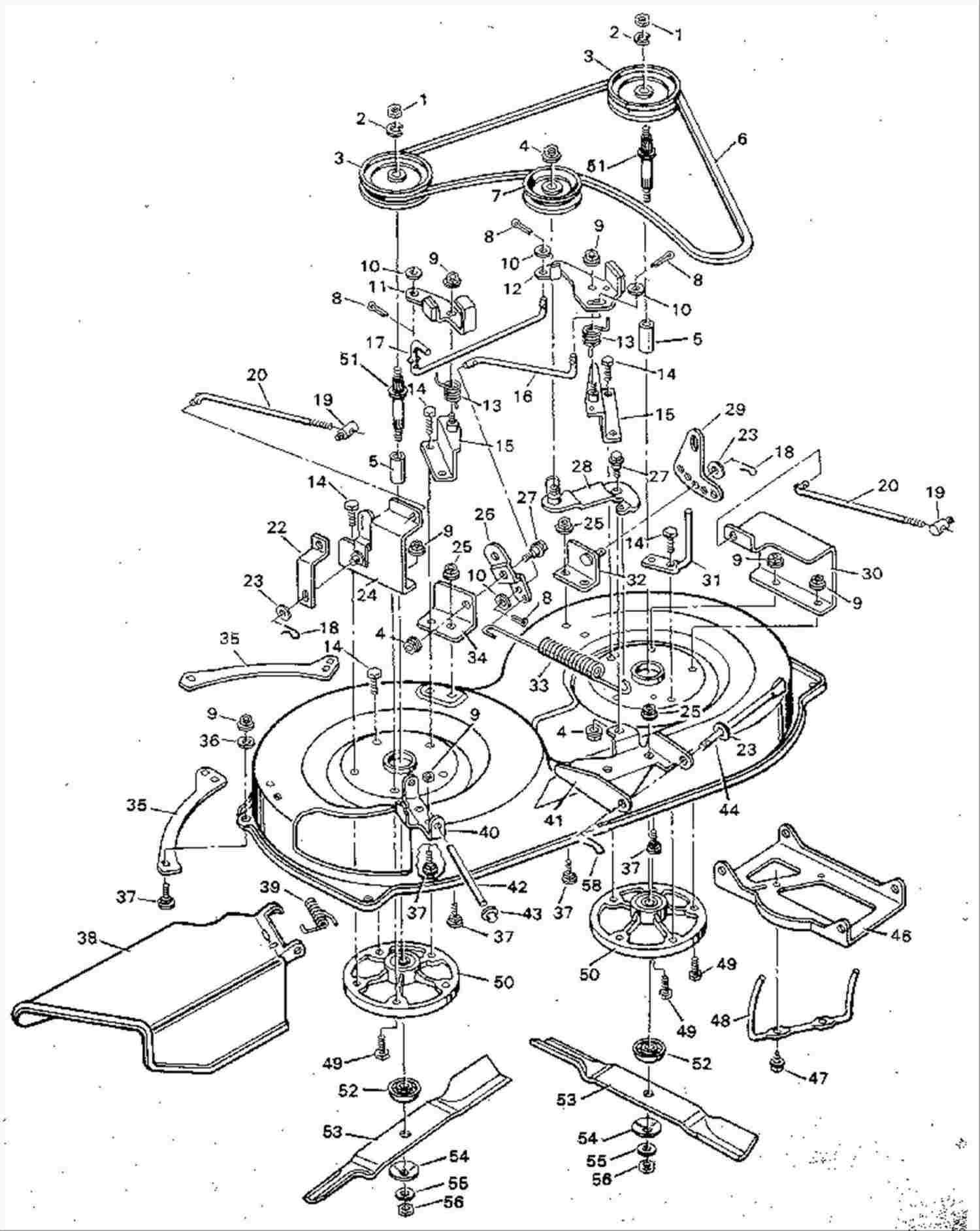 Lawn Mower Schematic Diagram
