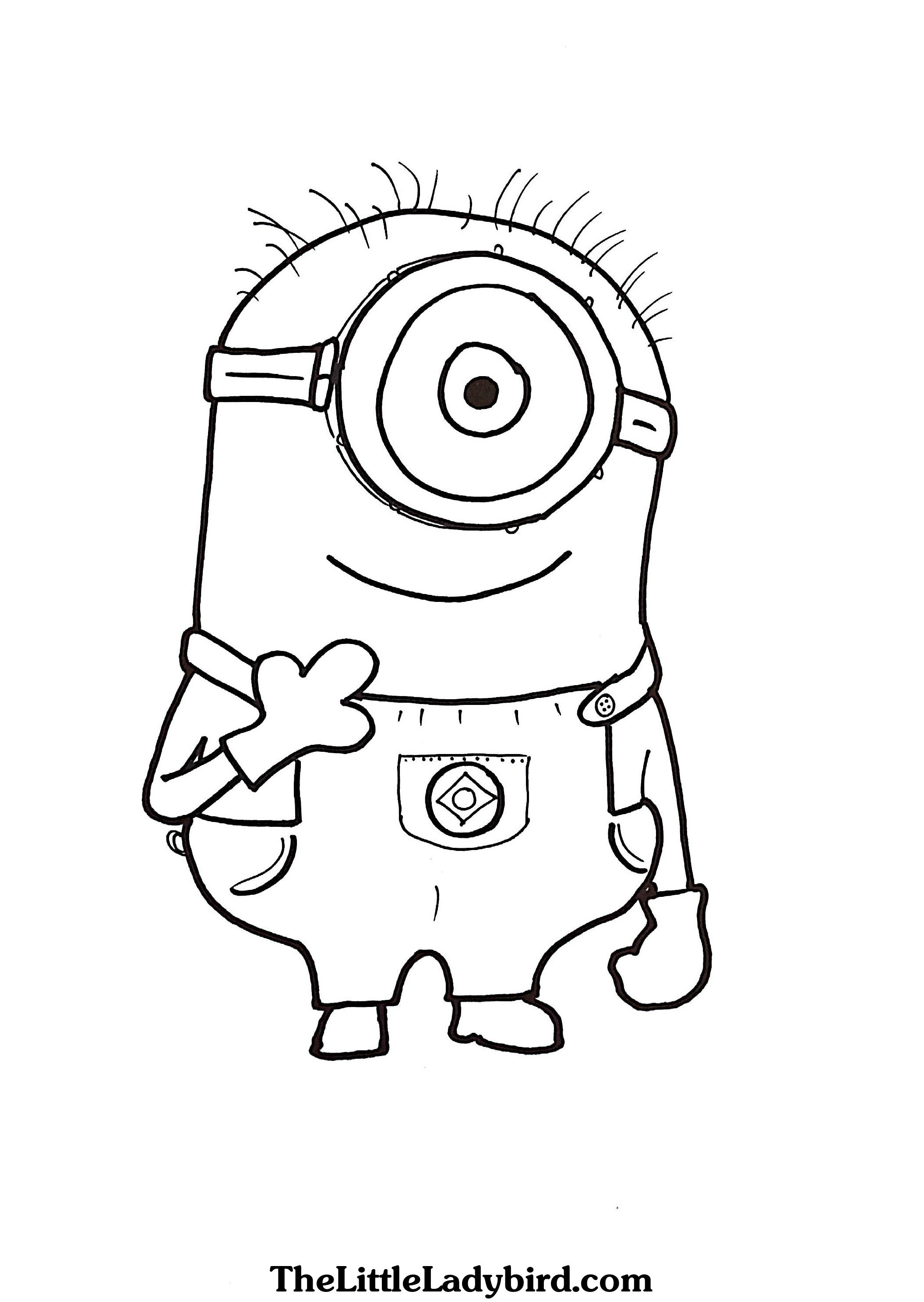 Minion Drawing For Kids At Paintingvalley