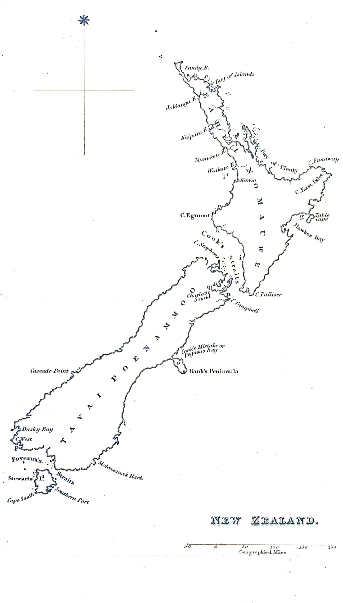 New Zealand Map Drawing At Paintingvalley
