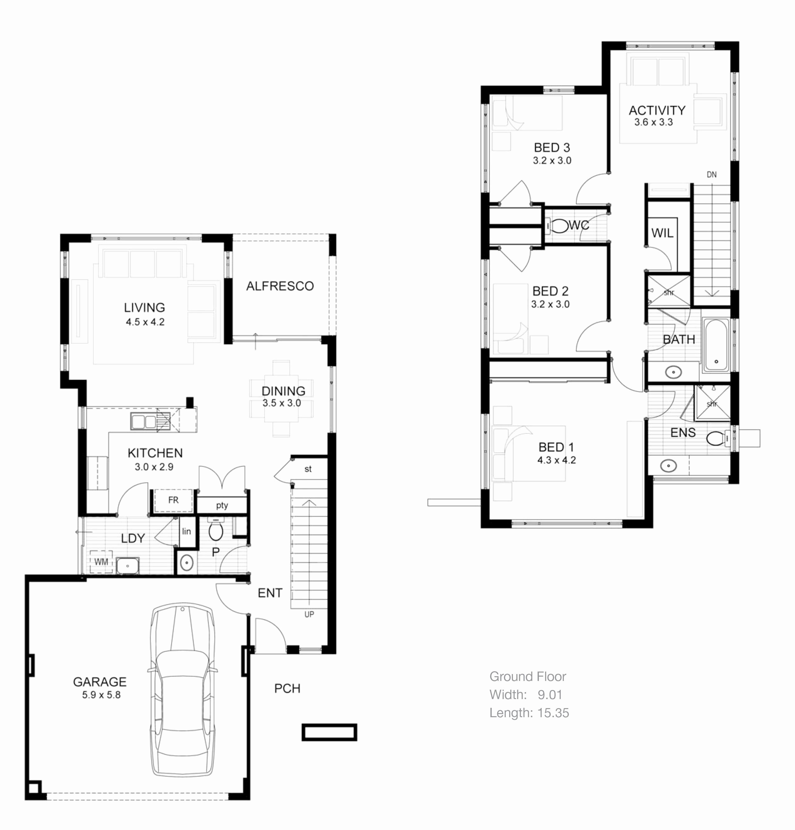 House Floor Plan With Electrical Layout
