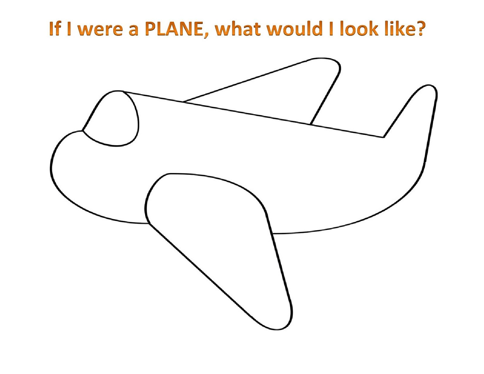 Plane Drawing For Kids At Paintingvalley