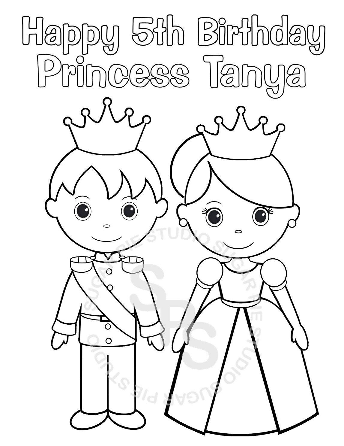 Princess And Prince Drawing At Paintingvalley