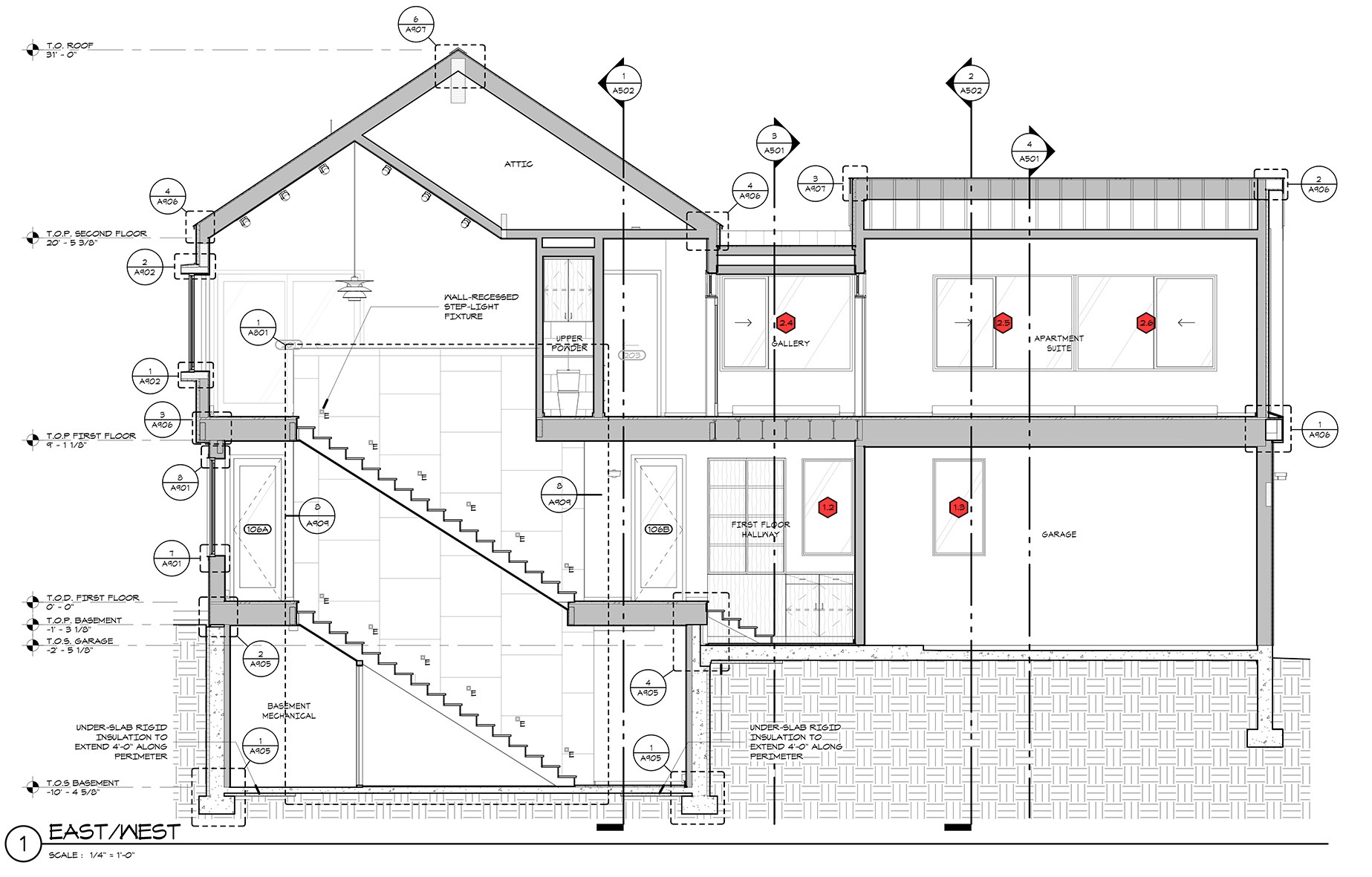 Section Drawing Architecture At Paintingvalley