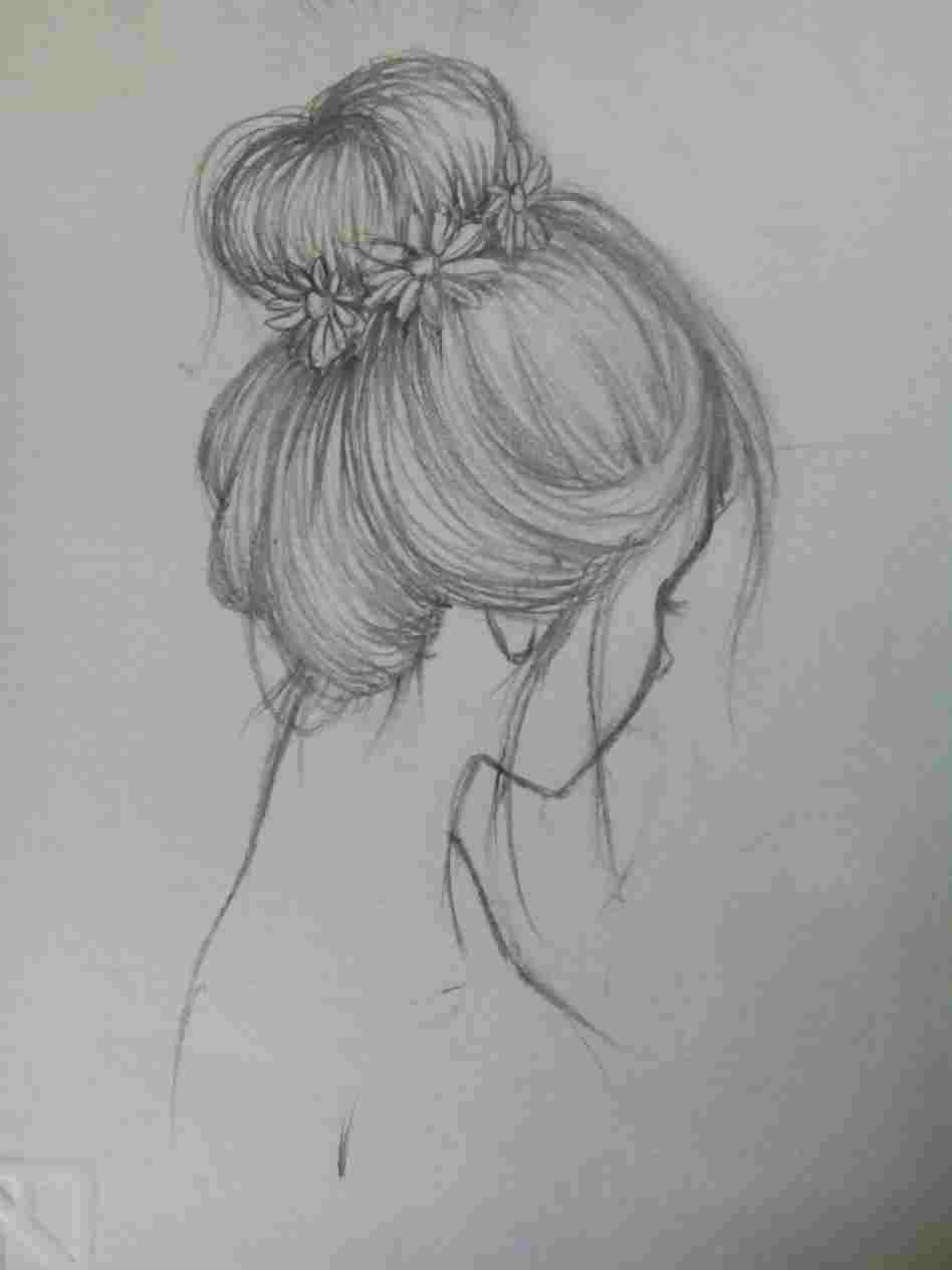 Simple Pencil Art Drawings