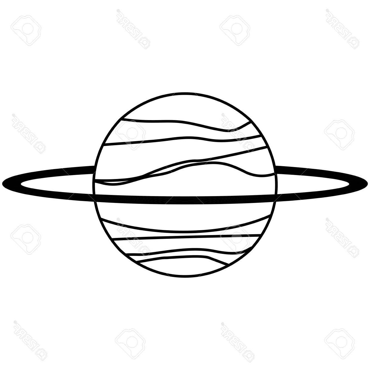 Solar System Line Drawing At Paintingvalley