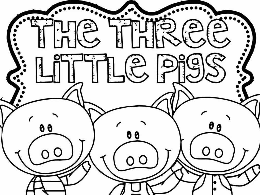 Three Little Pigs Drawing At Paintingvalley