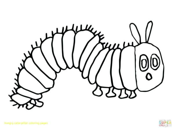 the very hungry caterpillar coloring pages # 60
