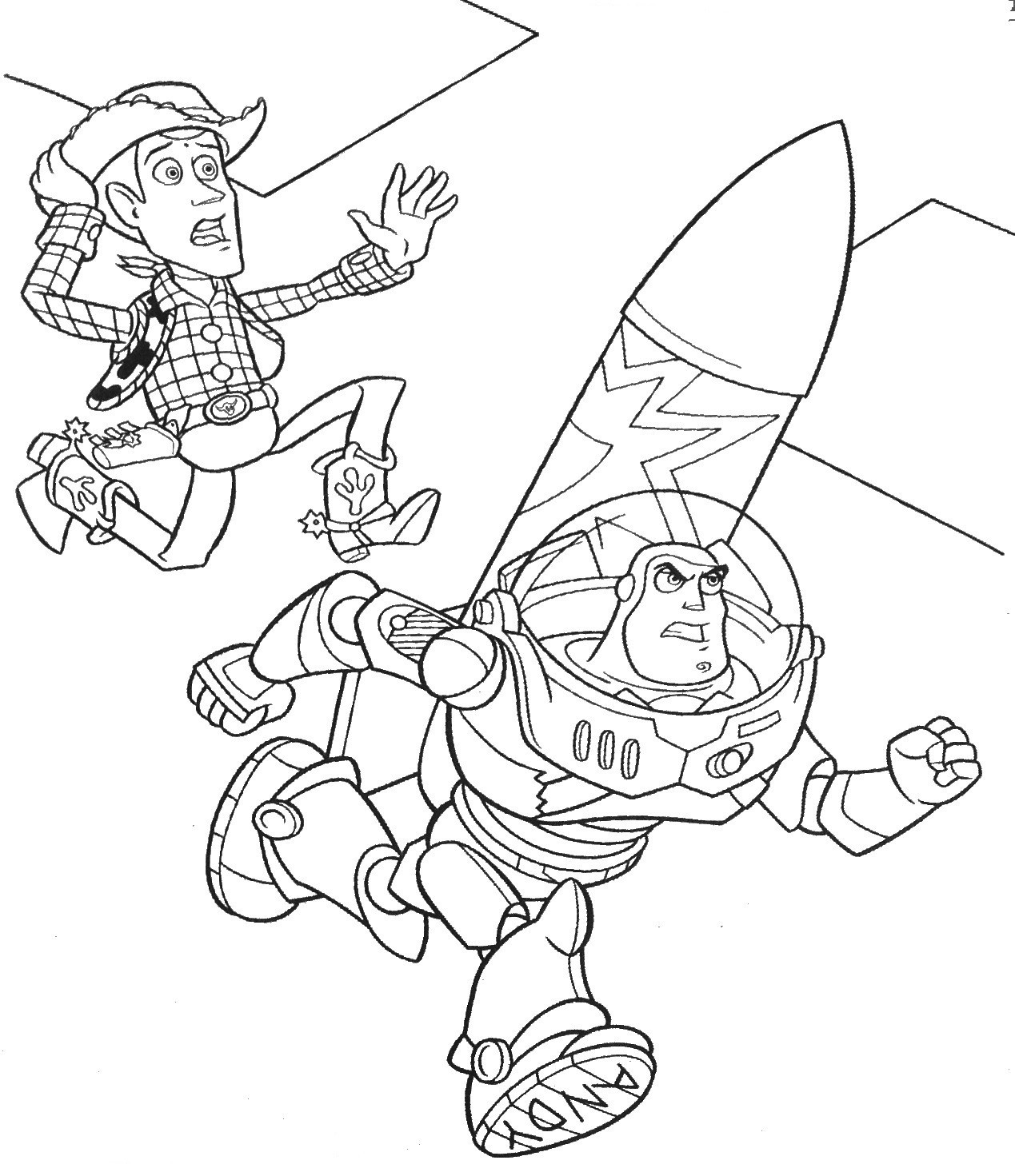 Woody Toy Story Drawing At Paintingvalley