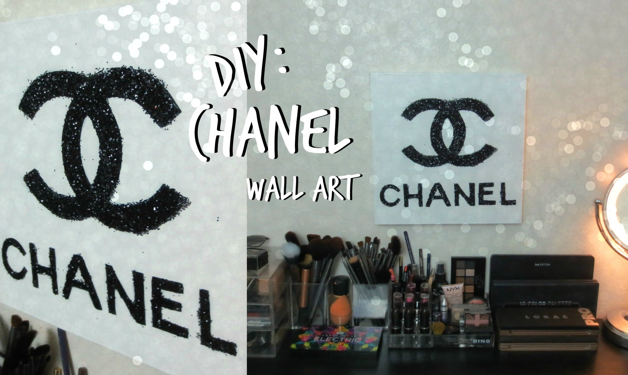 Chanel Canvas Painting At Paintingvalley Com Explore
