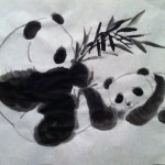 Panda Chinese Painting At Paintingvalley Com Explore Collection Of Panda Chinese Painting