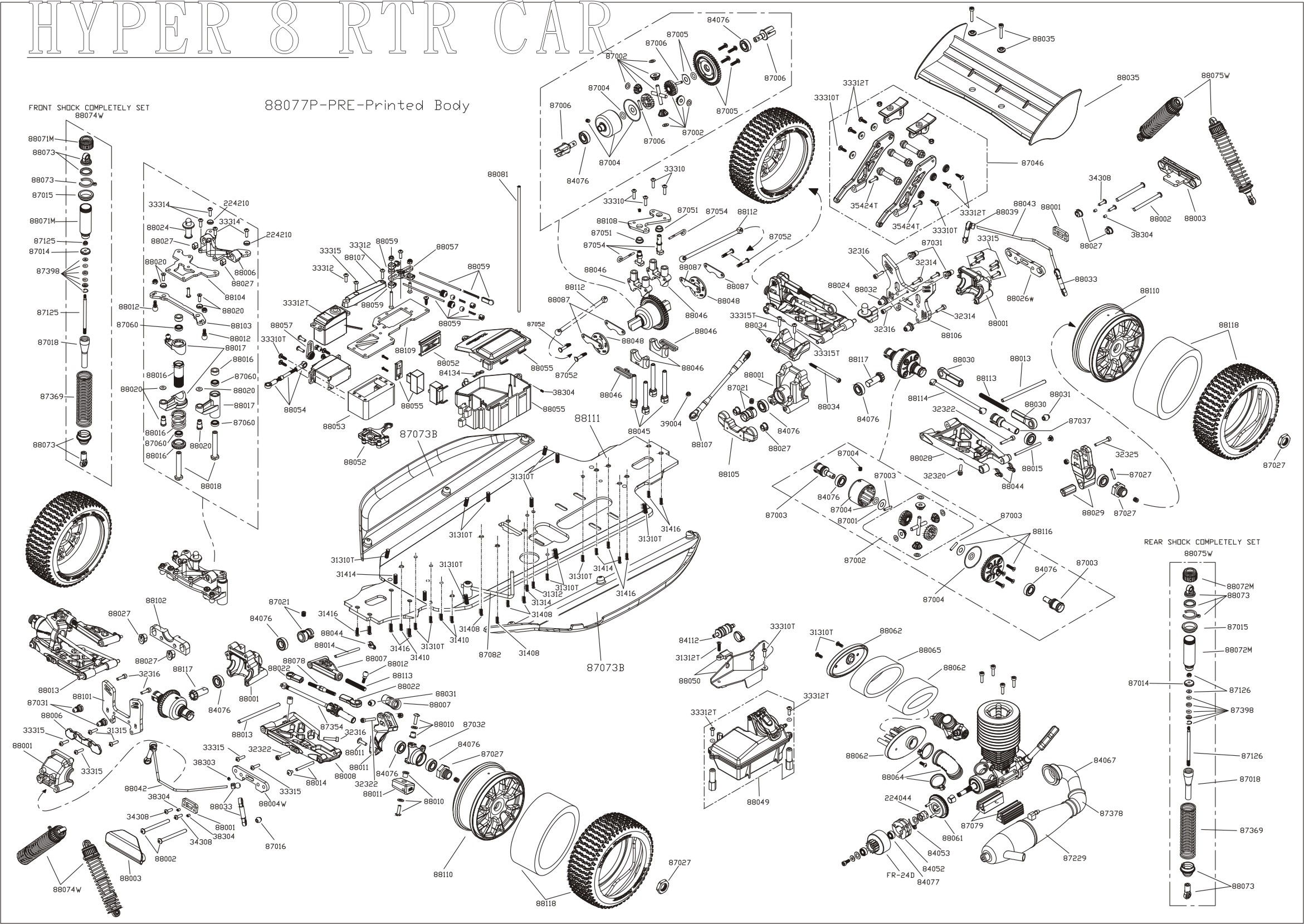 Car Parts Sketch At Paintingvalley