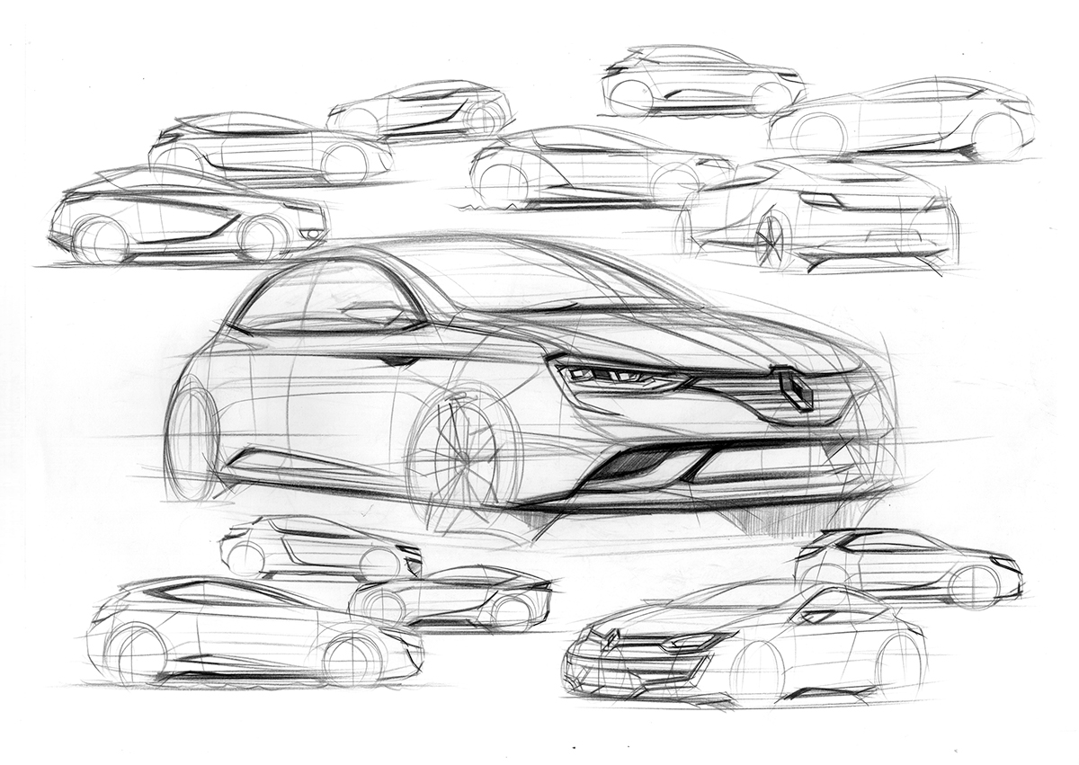Concept Car Sketches At Paintingvalley