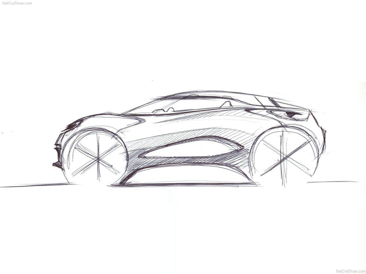 Future Car Sketch At Paintingvalley