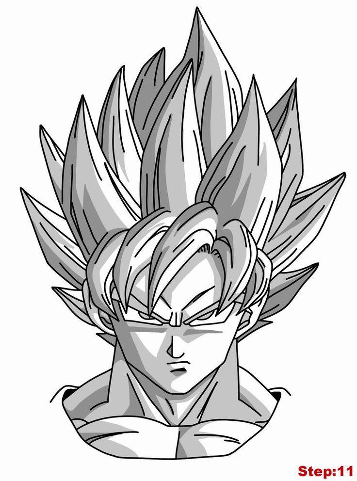 Dessin Dragon Ball Z Sangoku Super Sayen 5 Kapokto