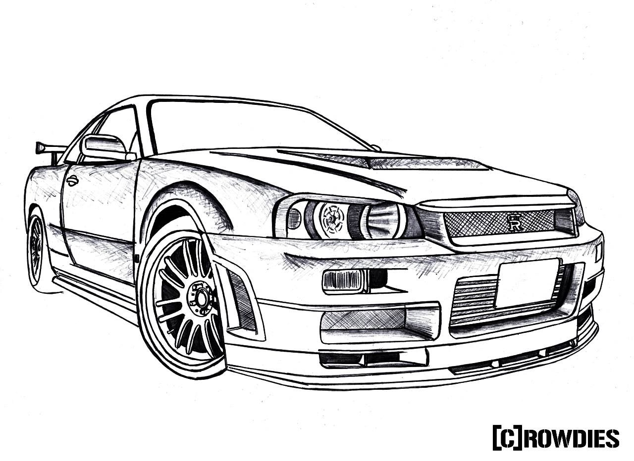 Gtr Sketch At Paintingvalley