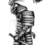 Samurai Tattoo Sketch At Paintingvalley Com Explore Collection Of Samurai Tattoo Sketch