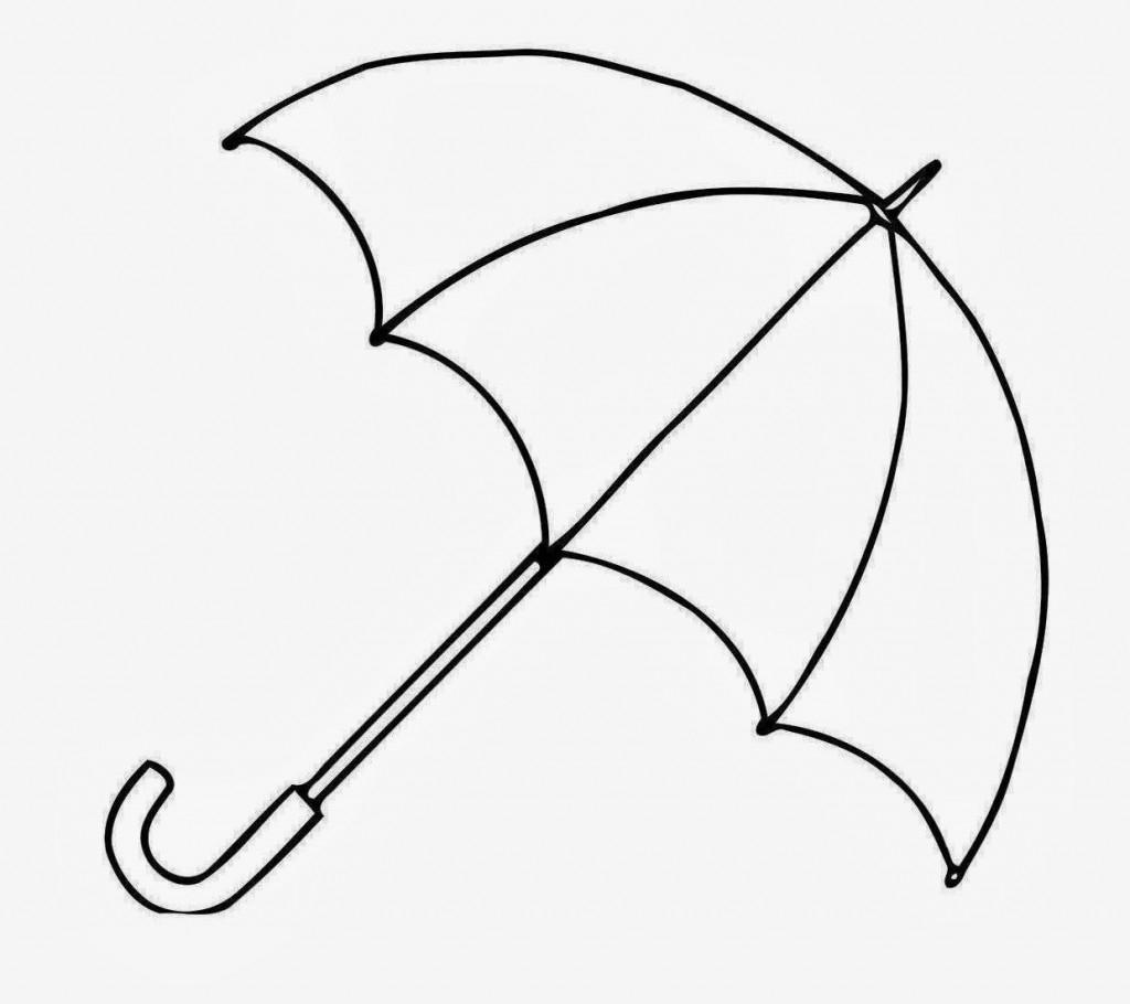 Umbrella Sketch At Paintingvalley